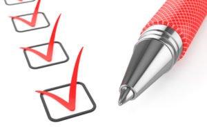 Unterlagenliste Baufinanzierung